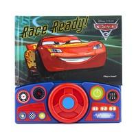 Cars 3 Steering Wheel Book