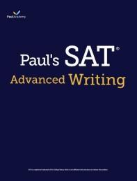 Paul's SAT Advanced Writing