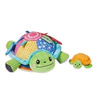 소리 나는 헝겊책 깜찍한 거북이