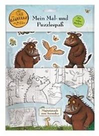 Der Grueffelo: Mein Mal- und Puzzlespass