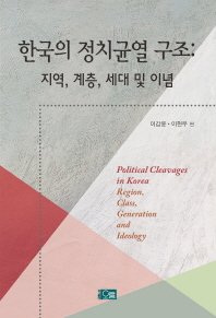 한국의 정치균열 구조