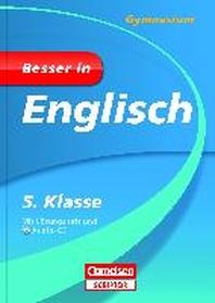 Besser in Englisch - Gymnasium 5. Klasse - Cornelsen Scriptor