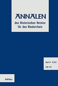 Annalen Des Historischen Vereins Fur Den Niederrhein