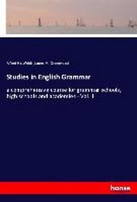 Studies in English Grammar