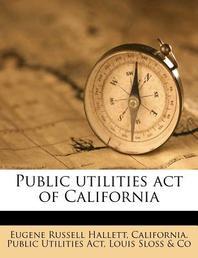Public Utilities Act of California