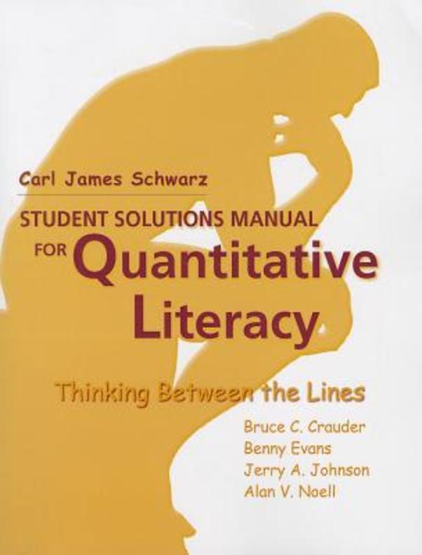 Quantitative Literacy