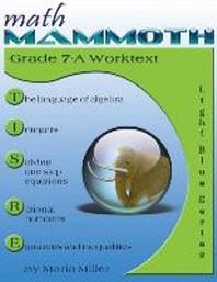 Math Mammoth Grade 7-A Worktext