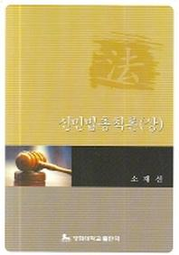 신민법총칙론 (상)
