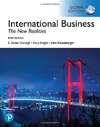 International Business: The New Realities (Global Edition)