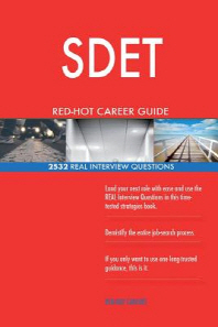 SDET RED-HOT Career Guide; 2532 REAL Interview Questions