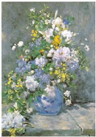 재원브로마이드. 32: 르누아르/꽃병