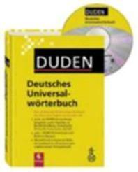 Duden - Deutsches Universalwoerterbuch - Buch plus CD
