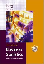 Essentials of Business Statistics with Student CD-ROM