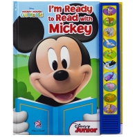 Disney Mickey Mouse Clubhouse: I'm Ready to Read with Mickey ( Play-A-Sound )