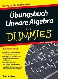 ?bungsbuch Lineare Algebra fuer Dummies