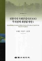 전환기의 사회간접자본(SOC) 투자정책 재정립 방안. 1
