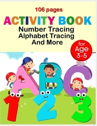 Activity book number tracing alphabet tracing and more