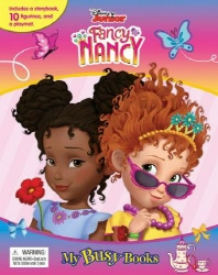 My Busy Book: Disney Fancy Nancy (미니피규어 10개 + 놀이판)