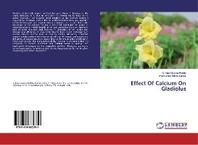 Effect Of Calcium On Gladiolus