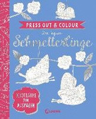 Press Out & Colour - Schmetterlinge