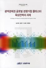 광역경제권 글로벌 경쟁거점 클러스터 육성전략과 과세