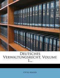 Systematisches Handbuch Der Deutschen Rechtswissenschaft, Sechste Abtheilung, Erster Band