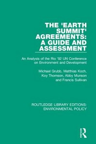 The 'Earth Summit' Agreements