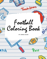 Football Coloring Book for Children (8x10 Coloring Book / Activity Book)