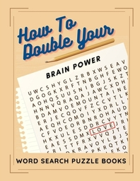 How To Double Your Brain Power Word Search Puzzle Books