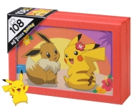 포켓몬스터 108 퍼즐 갤러리: 알로하 피카츄&이브이