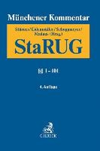 Muenchener Kommentar zur Insolvenzordnung  Bd. 5: StaRUG, ¡×¡× 1-101