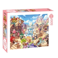 쿠키런 킹덤 평화로운 쿠키왕국 직소퍼즐 500PCS
