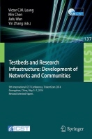 Testbeds and Research Infrastructure