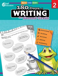 180 Days of Writing for Second Grade (Level 2)