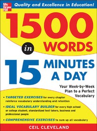 1,500 Words In 15 Minutes A Day : A Year-Long Plan To Learn 28 Words A Week