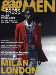 GAP PRESS MEN VOL.58(2020-2021AUTUMN & WINTER)