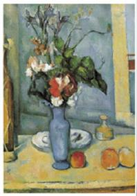 재원브로마이드. 34: 세잔/푸른 꽃병