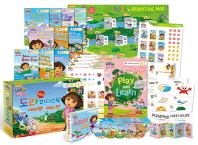 New 도라(Dora) 리더스북 10종 Level 1 B세트(세이펜BOOK)