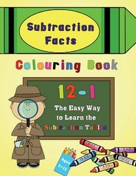 Subtraction Facts Colouring Book 12-1
