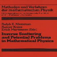 Inverse Scattering and Potential Problems in Mathematical Physics
