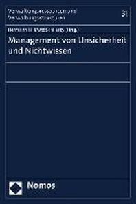 Management Von Unsicherheit Und Nichtwissen