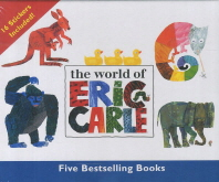 The World of Eric Carle Five Bestselling Books Set(에릭칼 베스트 그림책 세트)