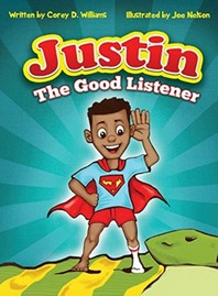 Justin the Good listener