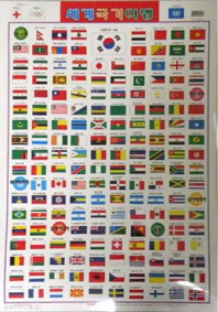 세계국기여행(벽보)
