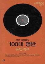 한국 대중음악 100대 명반 음반리뷰