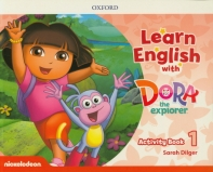 Learn English with Dora the Explorer Level. 1: Activity Book