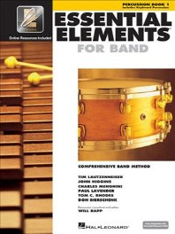 Essential Elements for Band - Percussion/Keyboard Percussion Book 1 with Eei