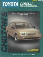Toyota Corolla, 1988-97