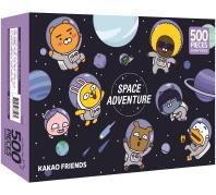 카카오프렌즈 직소퍼즐 500pcs: 스페이스 카카오프렌즈