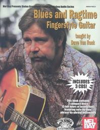 Blues and Ragtime Fingerstyle Guitar [With 3 CDs]